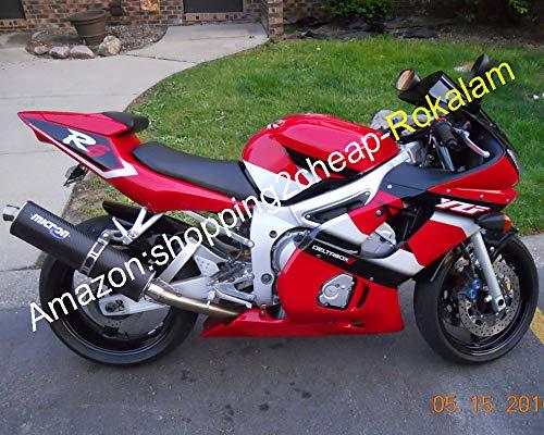 Lot de carénages pour YZFR6 1998-2002 YZF600R YZF R6 98-02 Rouge/blanc/noir