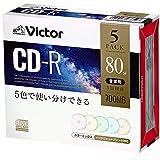 ビクター(Victor) 音楽用 CD-R AR80FPX5J1  (48倍速/5枚)