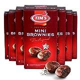 Tims Mini Brownies 7x 200 g I Mini Muffins Original I 9 einzeln verpackte, saftige Cupcakes ohne Konservierungsstoffe I Leckeres Kaffee-Gebäck I Traditionelle kanadische Backwaren Made in...
