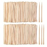 wood applicator sticks - Diaosnx 1200 Pack Wooden Waxing Sticks Wax Spatulas Sticks Small Wax Applicator Sticks Wood Craft Sticks Spatulas Applicator for Hair Eyebrow Nose Removal (Without Handle)