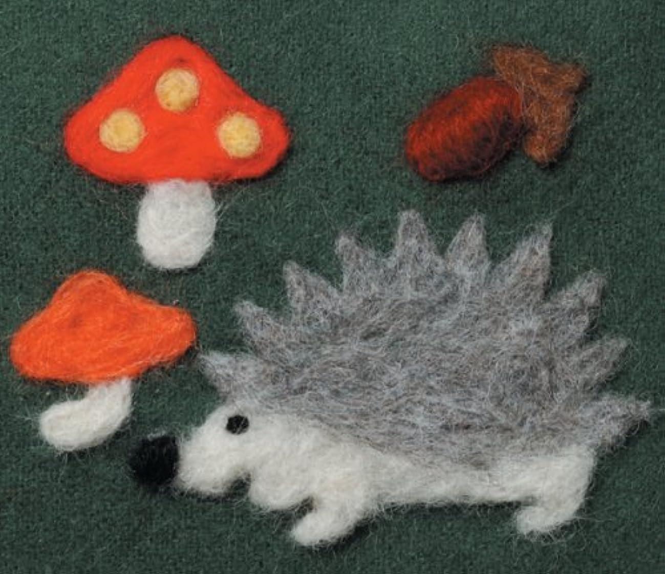 Clover Applique Mold, Hedgehog/Mushroom Design