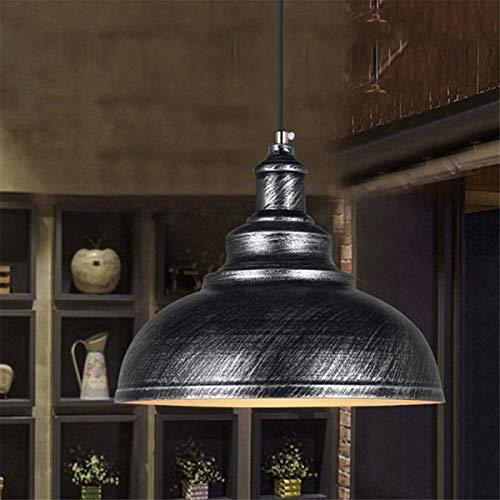 Dkdnjsk Retro industrial araña creativa labrado hierro colgante lámpara colgante de estilo industrial retro americano lámpara de hierro forjado araña de hierro forjado con bombilla E27 Adecuado para c
