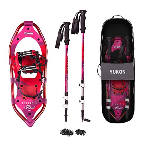 Yukon Charlies Advanced Float Women's Snowshoe Kit, 821