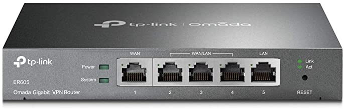 TP-Link Multi-WAN Wired VPN Router | Up to 4 Gigabit WAN Ports | SPI Firewall SMB Router | Omada SDN Integrated | Load Bal...