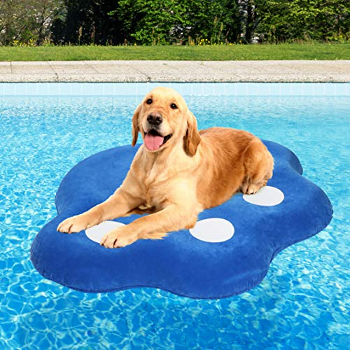 Milliard Dog Pool Float Inflatable Ride On Raft for Pets Swimming