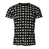 Luanvi Camiseta de Manga Corta Estampado Cómic Edición 2019, Unisex, Multicolor, S