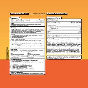 Equate - Fiber Therapy, Smooth Texture, Orange Flavor, Powder, 36.8 oz, Sugar Free 180 Doses