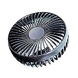 Ventilator für Auto, 5,5 Zoll, 12 V 24 V, Geschwindigkeitsregler für Drittes Wind, hohe Geschwindigkeit, Steckdose für Auto mit Klimaanlage für den hinteren Stuhl, USB Cuscino del sedile