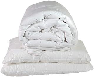 Espritzen - Pack Hiver couette chaude 240x220 cm + 2 Oreillers 50x70 cm - Blanc