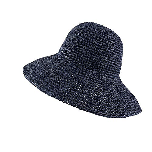 Sun hat Summer Autumn Hats for Bri Flat Hat Women Drooping Year-end annual account favorite Retro