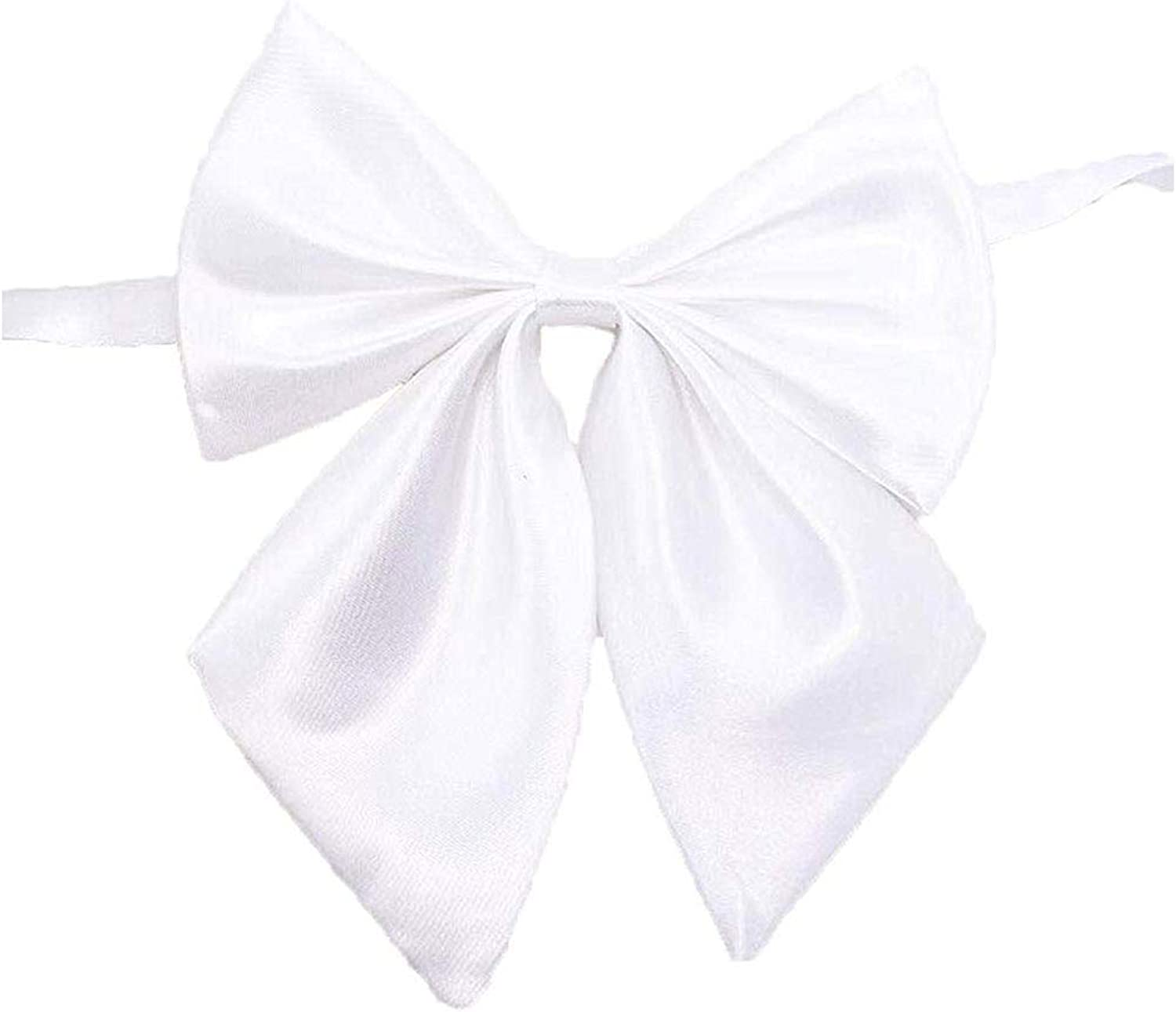 Ribbon Bow Tie Bowknot Pre-Tied Cravat with Adjustable Lenght Neck Tie