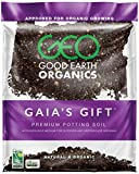 The Good Earth Organics, Gaia's Gift Premium Potting Soil, Organic Potting Soil for Heavy Feeding...