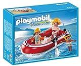 PLAYMOBIL Vacaciones - Nadadores con balsa, Playsets de Figuras de Juguete, 20 x 5 x 15...