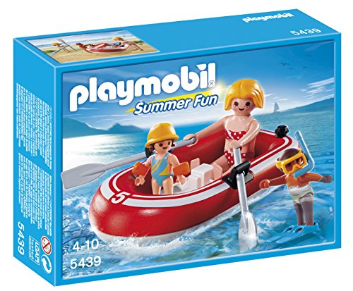 Playmobil 5439 - Bagnanti con Gommone