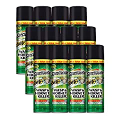 Insects killed: kills wasps, hornets and yellow jackets, as well as tent caterpillars, scorpions and ants Up to 27 foot jet spray: stand a safe distance from the Nest while treating Eliminates the nest: wait at least 24 hours before removing treated ...