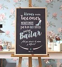 Amazon.es: pizarra para bodas - Costura y manualidades ...