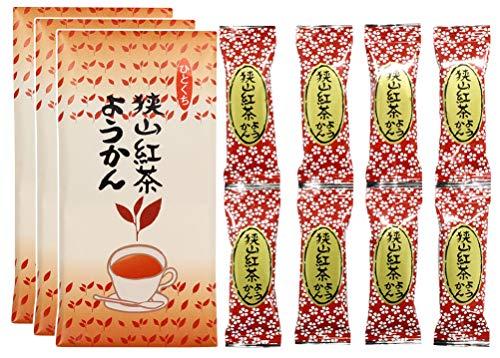 一口ようかん 紅茶ようかん 羊羹 8個入 × 3セット