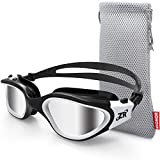 ZIONOR Swimming Goggles, G1 Polarized Swim Goggles UV Protection...
