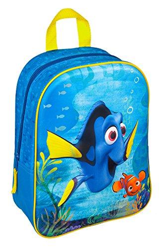 Undercover Kinder-Rucksack, 3D Applikation, Disney Pixar Findet Dorie , 32 cm, Blau