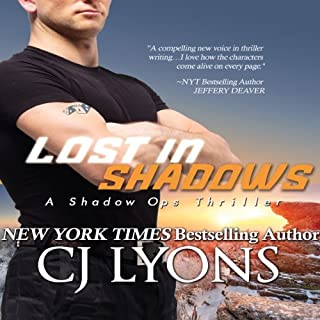 Lost in Shadows audiobook cover art