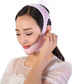Jia Jia- フェイシャルリフティングスリミングベルト - 薄型フェイス包帯ダブルチンデバイスフェイシャルマッサージアンチエイジングリンクルフェイスマスクベルト 顔面包帯 (サイズ さいず : L l)