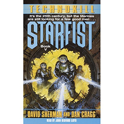 Starfist: Technokill audiobook cover art
