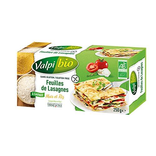 VALPIBIO - Feuilles De Lasagnes Maïs Riz Bio 250G