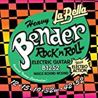 LA BELLA ラベラ エレキギター弦 B1252 Heavy Bender Electric Guitar Strings 12-52