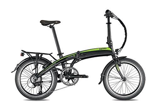 Bicicletta elettrica pieghevole bizo7even Grigio/Rosso–Batteria: Samsung 36V–10Ah 360WH–Durata: 90KM–Peso: 18,9kg su Amazon