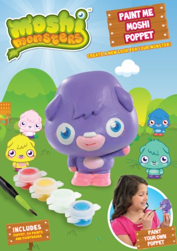 Moshi Monsters Paint Me Moshi Poppet