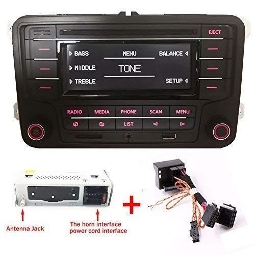 Auto Radio RCN210 BLUETOOTH CD-PLAYER MP3 USB AUX SD para VW Golf Touran Tiguan Jetta Passat Polo Caddy