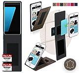 Hülle für Ulefone Future Tasche Cover Hülle Bumper   Braun Wildleder   Testsieger