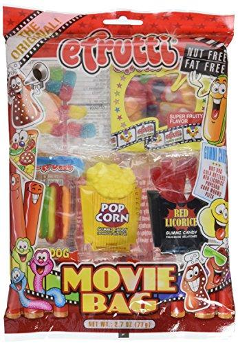 Gummy Movie Bag - E Frutti Gummy Candy, 2.7 oz