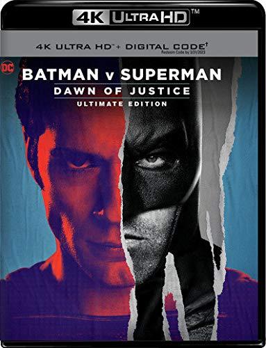 Batman v Superman: DOJ UE (2016) (4K Ultra HD + Digital Code) [Blu-ray]
