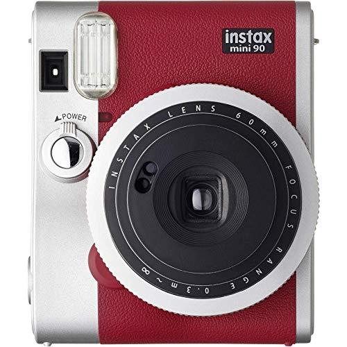 Fujifilm Instax Mini 90 Neo Classic Kamera, Rot