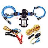 Pompe à eau 12V Camplux, 6 l/min, 65PSI, haute pression pour caravane, bateau, système d'eau chaude au gaz