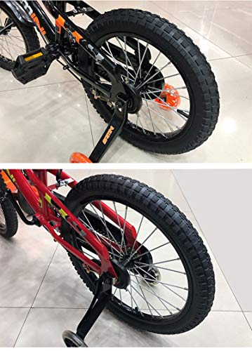 ZHYLing Neumáticos de Bicicleta de 1pcs Nacidos 12/14/16 / 18X1.75/2.125/2.40 Neumáticos Neumáticos niños de la Bici Bicicleta de niño Ciclismo Piezas (Color : 16X2.125)