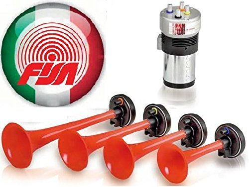 Fisa Made in Italy FQM Oldtimerhorn Die Waltons 6 Volt