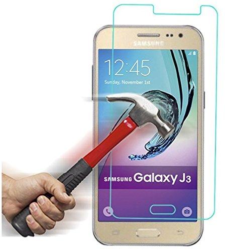 itronik® 9H Hartglas / Panzerglas für Samsung Galaxy J3 (2016) / Bildschirmschutzglas / Bildschirm Schutz Folie / Schutzglas / Echte Glas / Verb&englas / Glasfolie