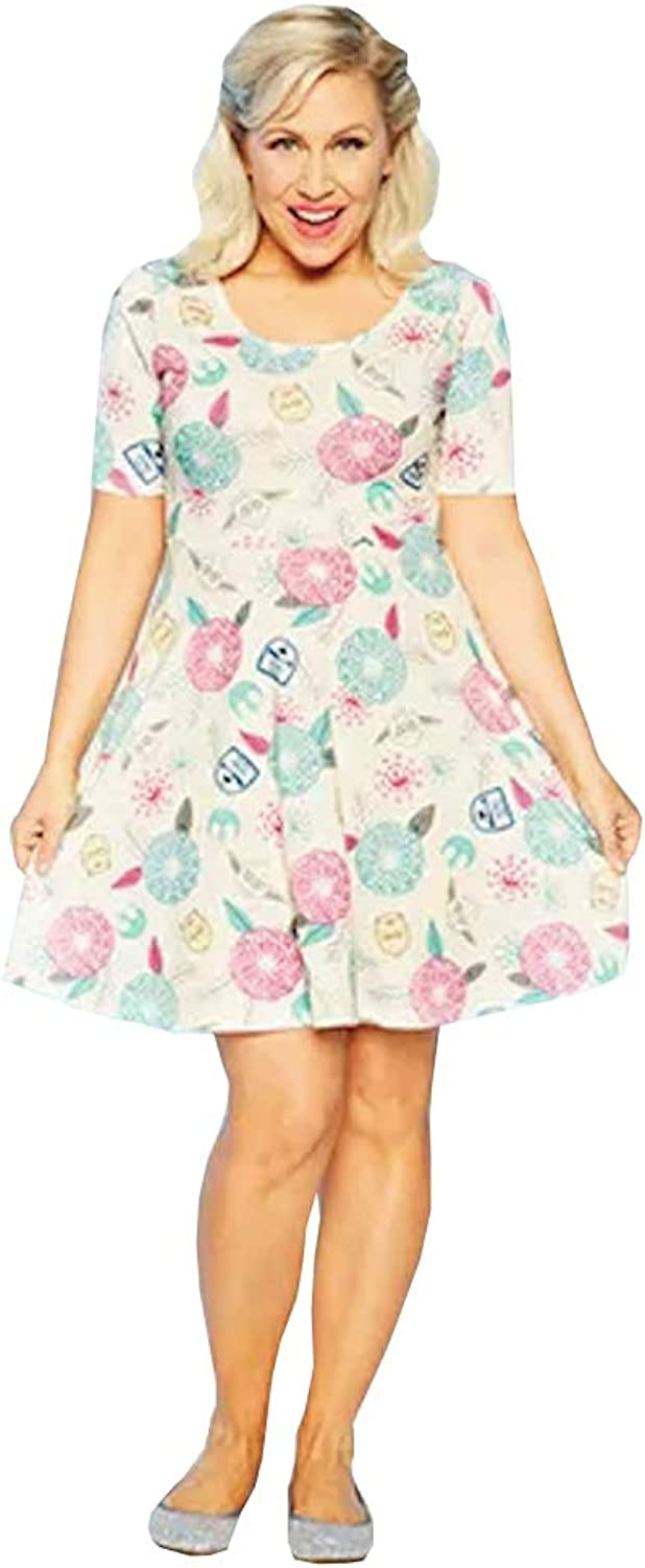 Disney Dress Shop Her Universe Star Wars Dress Floral Womens