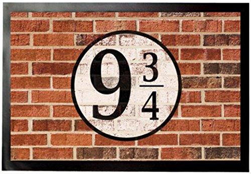 1art1 Muros De Ladrillos - Plataforma Nueve Y Tres Cuartos Felpudo Alfombra (60 x 40cm)