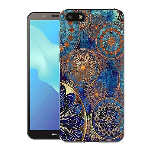 Huawei Y5 2018 / Y5 Prime 2018 / Honor 7S Case, FoneExpert Pattern Soft Slim Gel Silicone TPU Cover Case for Huawei Y5 2018 / Y5 Prime 2018 / Honor 7S