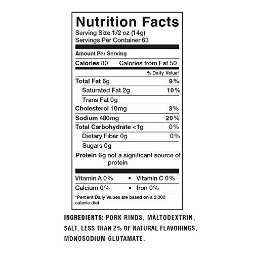 Lowrey's Bacon Curls Microwave Pork Rinds (Chicharrones), Original, 1.75 Ounce (Pack of 18)