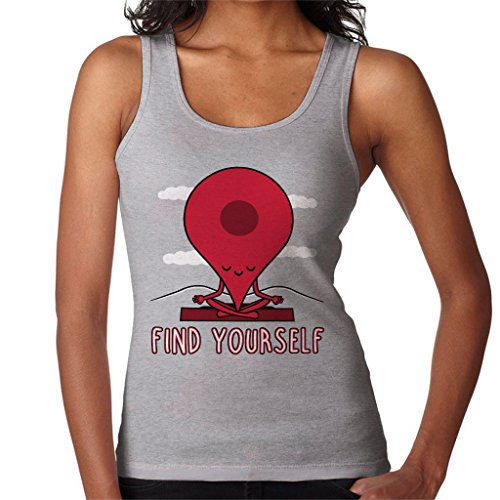Cloud City 7 Google Maps Pin Fin Yourself Women's Vest