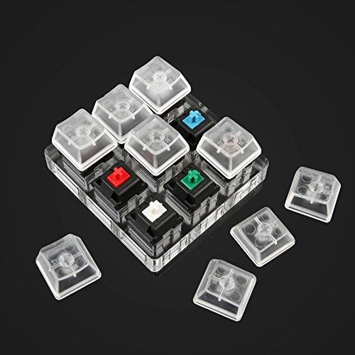 『LeaningTech キースイッチ メカニカルキーボード キーカップ キーカバー Cherry MX (9軸)』の5枚目の画像