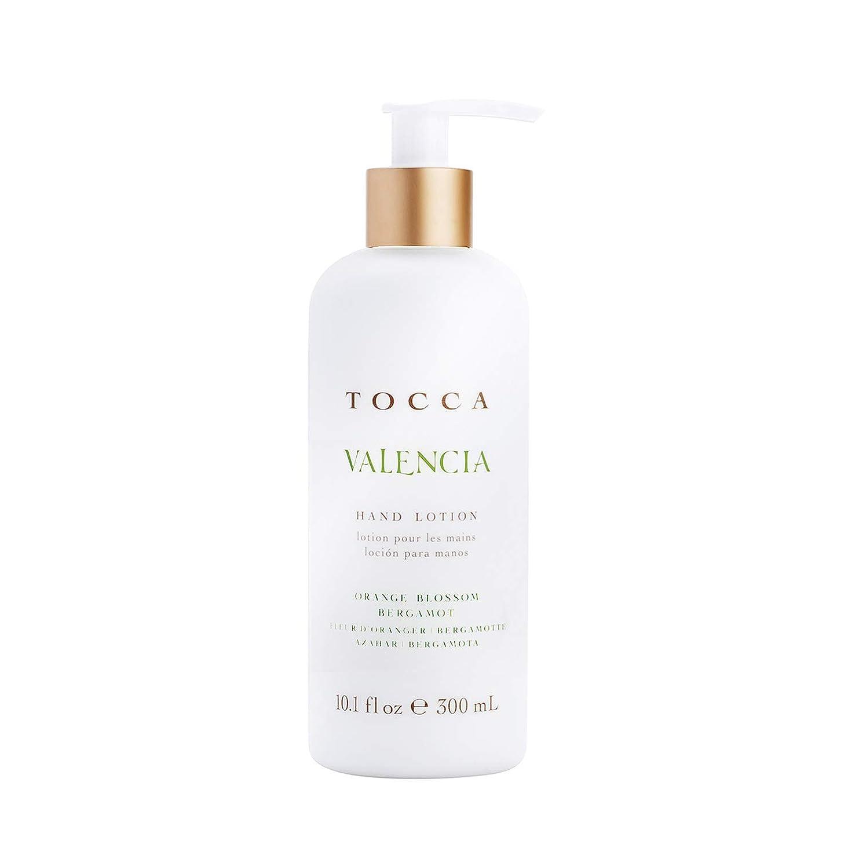 TOCCA(トッカ) ボヤージュ ハンドローション バレンシア 300mL (手肌用保湿 ハンドクリーム オレンジとベルガモットのフレッシュシトラスな香り)
