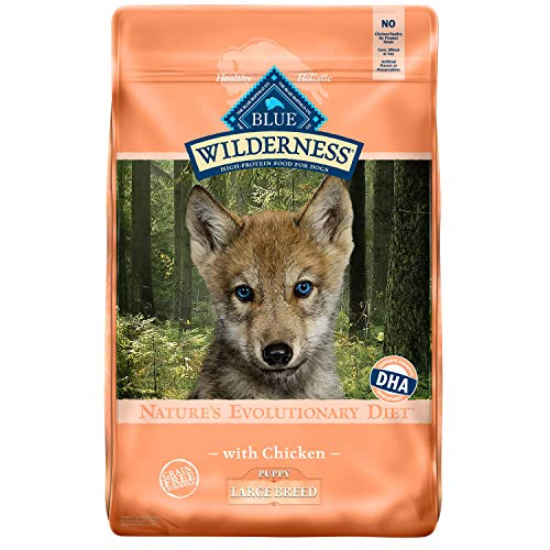 Blue Buffalo High Protein Wilderness Large Breed Puppy Dry Dog Food