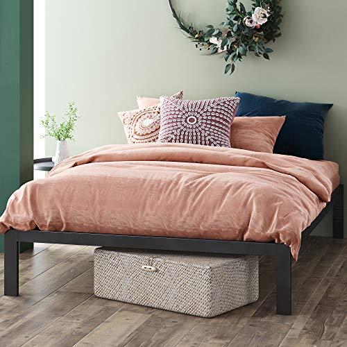 ZINUS Mia Metal Platform Bed Frame / Wood Slat Support / No Box Spring Needed /...