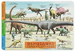 1. Painless Learning Dinosaurs Placemat