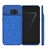 Idealforce Coque Samsung Galaxy S7 edge chargeur de batterie, WH externe Power Bank Chargeur portable de protection Coque pour Samsung Galaxy S7 edge bleu